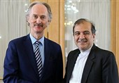 Iranian, UN Diplomats Discuss Efforts to Settle Syria Crisis