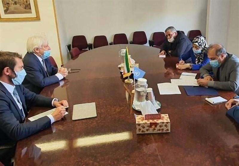 Iranian Diplomat, UN Envoy Discuss Yemen