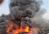 وقوع آتش سوزی گسترده در جده