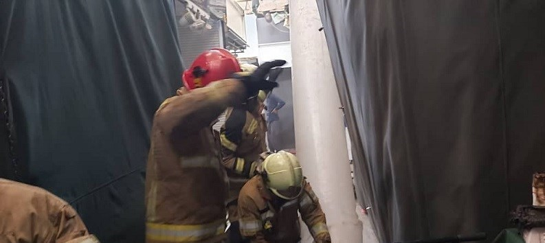 آتشنشانی , سازمان آتشنشانی تهران , آتشسوزی , اورژانس , حوادث , بازار ,