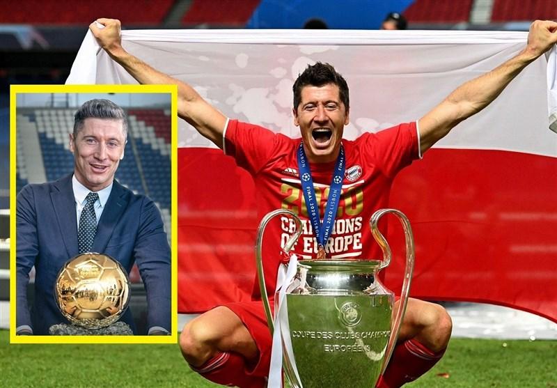 لواندوفسکی: شاید فرانس فوتبال خیلی زود تصمیم گرفت امسال به کسی توپ طلا ندهد