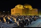 """عزاداری سید و سالار شهیدان در """"فیروزه جهان اسلام"""" مسجد کبود تبریز + تصاویر"""
