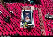 عزاداری تاسوعای حسینی در امامزاده صالح(ع)