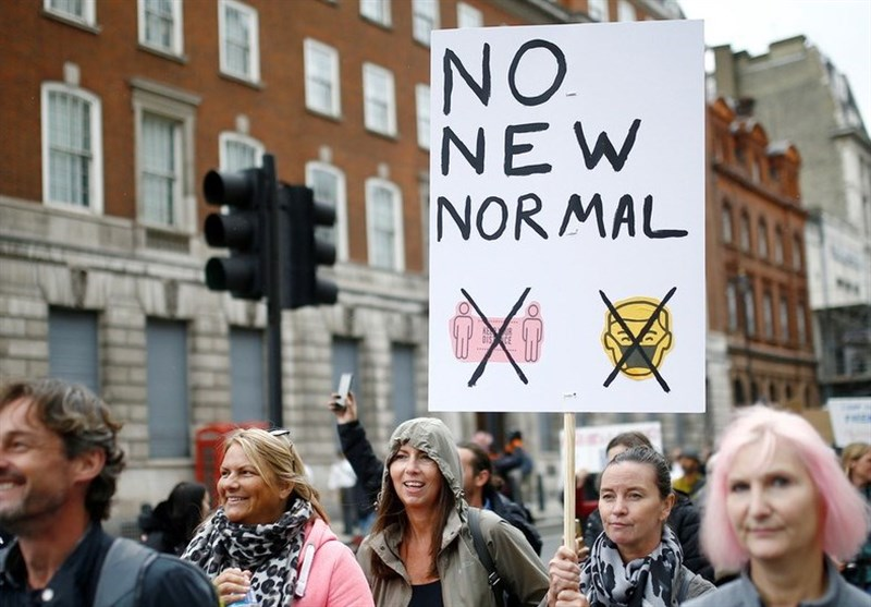 Thousands Protest in London, Demand End of Anti-COVID-19 Measures (+Video)