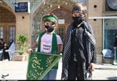 عرض ارادت نونهالان و نوجوانان قزوینی به امام حسین(ع) در روز عاشورا+تصاویر