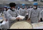 نذرواره «72 دیگ» در فاروج / 14000 نیازمند فاروجی بر سفره اطعام رضوی میهمان میشوند
