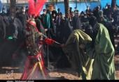 آیین بازسازی واقعه عاشورا در «دهزیار» کرمان به روایت تصویر