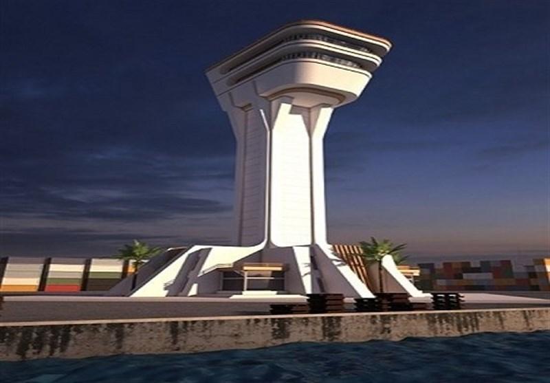 احداث بلندترین و پیشرفتهترین برج کنترل بنادر کشور در چابهار