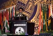گزارش تاریخ  سخنرانی آیتالله خامنهای در زیمباوه و شکست هیاهوی حامیان صدام