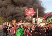 عراق؛ ایام عزا میں رقص نشرکرنے پر ٹی وی چینل کا دفترنذر آتش+ تصاویر