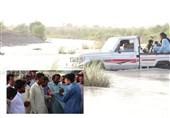 """گزارش ویدئویی  طغیان رودخانهها کار دست روستاییان بلوچستان داد / 2500 نفر در """"دشتیاری"""" راه دسترسی ندارند"""