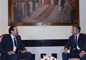 دیدار سعد الحریری و ماکرون در بیروت