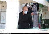 رئیس مجلس شورای اسلامی از بندر خرمشهر بازدید کرد