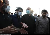 نخستین روز از سفر استانی رئیس مجلس به خوزستان به روایت تصویر