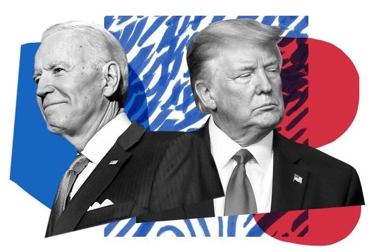 کشور آمریکا , دونالد ترامپ , انتخابات 2020 آمریکا , حزب دموکرات ایالات متحده آمریکا , حزب جمهوری خواه ایالات متحده آمریکا , جو بایدن ,