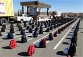 خراسان جنوبی| مشارکت پرسنل پدافند هوایی شرق کشور در توزیع کمکهای مؤمنانه به روایت تصاویر