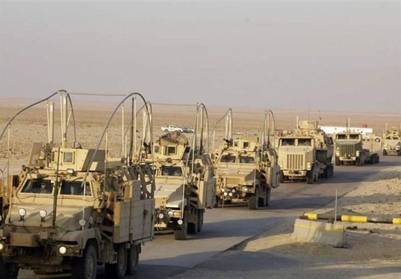 العراق.. تفجیر یستهدف رتل دعم لوجستی للتحالف الأمریکی فی المثنى