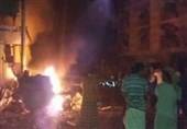 وقوع انفجار مهیب در اطراف فرودگاه بین المللی عدن در جنوب یمن