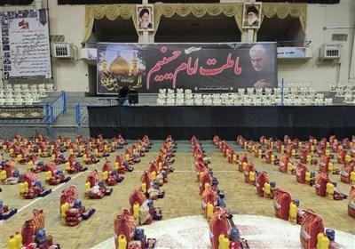 سپاه استان بوشهر ۲۰۸ هزار بسته معیشتی بین نیازمندان توزیع کرد