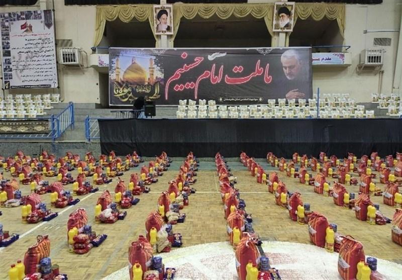 سپاه استان بوشهر 208 هزار بسته معیشتی بین نیازمندان توزیع کرد