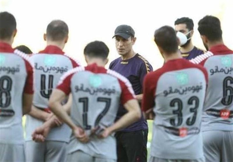 جلسه گلمحمدی با علیپور در ورزشگاه شهید کاظمی