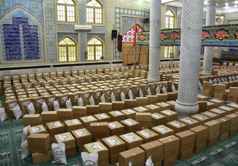 3000 بسته معیشتی میان بیماران کرونایی استان بوشهر توزیع شد