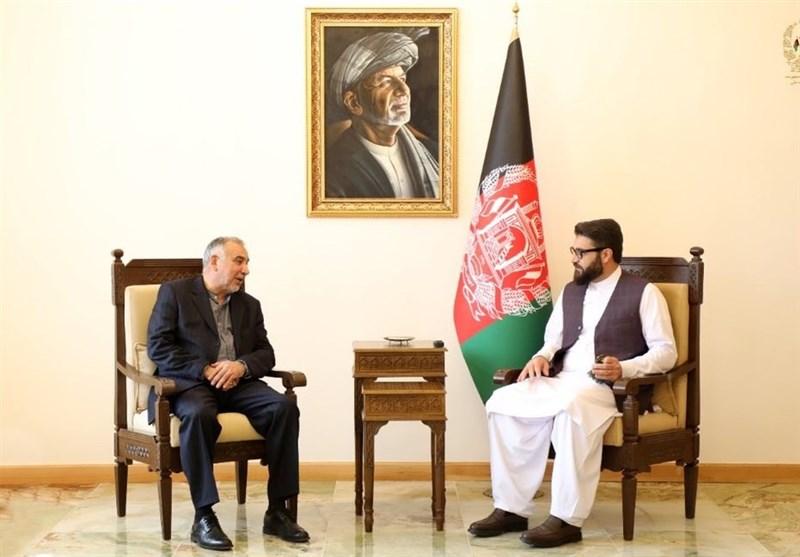 تقویت نظام جمهوری و پایان بحران افغانستان محور دیدار طاهریان با «محب»