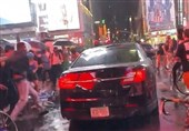 Car Filmed Driving Through Crowd of Anti-Racism Supporters in NYC