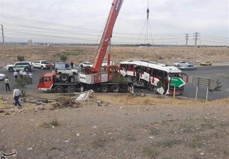 سازمان راهداری: اتوبوس حامل خبرنگاران مجوز تردد نداشته است