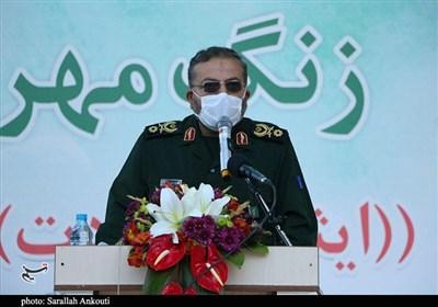 سردار سلیمانی: در هر عرصهای مردم برای تحقق اوامر رهبر انقلاب وارد میدان شدند موفق بودهایم