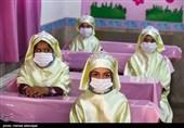 حضور دانش آموزان در کلاس درس و آغاز سال تحصیلی جدید ۱۴۰۰-۱۳۹۹ با رعایت پروتکل های بهداشتی جهت جلوگیری از شیوع ویروس کرونا