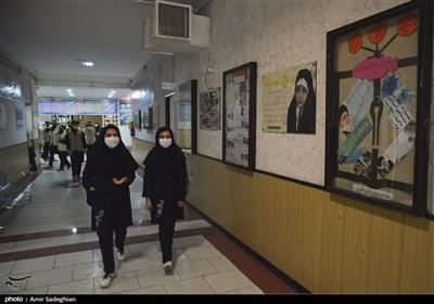 بازدید معاون اول رئیس جمهور از روند بازگشایی مدارس در تهران