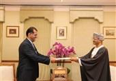 سفیر جدید ایران رونوشت استوارنامه خود را تقدیم وزیر خارجه عمان کرد