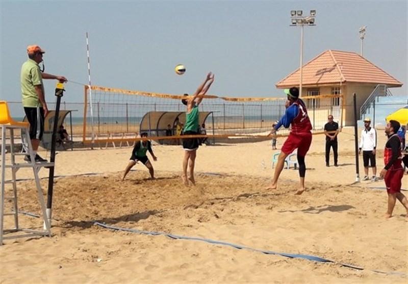 برگزاری اردوی تیم ملی والیبال ساحلی ناشنوایان در بندرترکمن