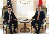 اردوغان در دیدار فائز السراج: برای تقویت روابط با دولت مشروع لیبی تلاش میکنیم