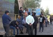 حال و هوای معدن ذغال سنگ هجدک کرمان پس از ریزش ظهر امروز به روایت تصویر