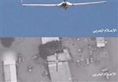 سلاح الجو المسیر یهاجم اهدافا عسکریة سعودیة فی مطار أبها