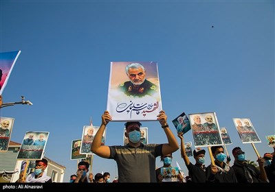 Iraqi Mourners in Karbala Pay Homage to Gen. Soleimani, Al-Muhandis