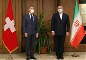 ظریف: از تلاشهای سوئیس برای کاستن از آثار خرابکاری آمریکا تشکر میکنیم