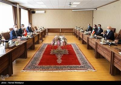 دیدار محمدجواد ظریف و ایگنازیو کاسیس وزرای امور خارجه ایران و سوئیس