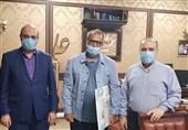 ارائه گزارش 7 ماهه ناظمی به سلطانیفر و علینژاد