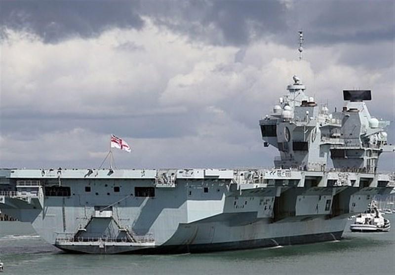 حضور کشتیهای جنگی انگلیسی در دریای سیاه