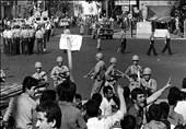 واکنش انقلابی مردم جهرم در چهلم شهدای 17 شهریور