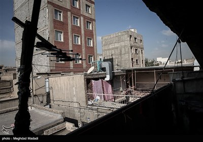 بازدید مقامات قضایی و انتظامی از محله هرندی