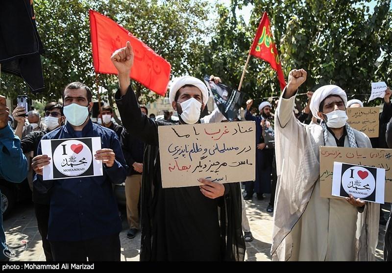 تجمع اعتراض آمیز مردم همدان در پی اهانت نشریه فرانسوی به پیامبر اکرم(ص) برگزار میشود