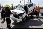 تصادف خونین در محور نگار به سمت بهرامجرد / برخورد 3 خودرو 7 کشته و زخمی بر جای گذاشت