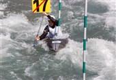 برگزاری مسابقات قایقرانی اسلالوم قهرمانی کشور در رودخانه کرج