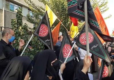 گزارش کامل تجمع دانشجویی مردمی مقابل سفارت فرانسه