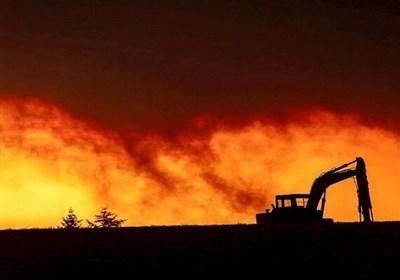 آتش سوزی گسترده جنگلهای ۵ شهر و منطقه ایالت «اورگن» آمریکا