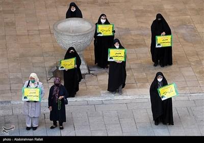 تجمع اعتراضی به هتک حرمت قرآن کریم و پیامبر اسلام(ص) - مسجد جامع همدان